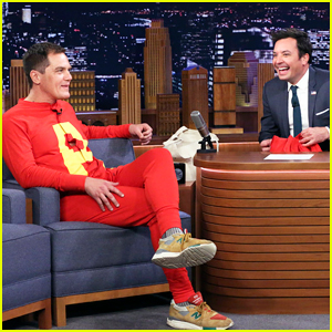 Michael Shannon Wrestles Jimmy Fallon Wearing An 'Alvin and the Chipmunks' Onesie - Watch Here!