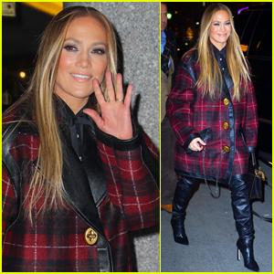 Jennifer Lopez Attends 'Saturday Night Live' Cast Dinner in NYC