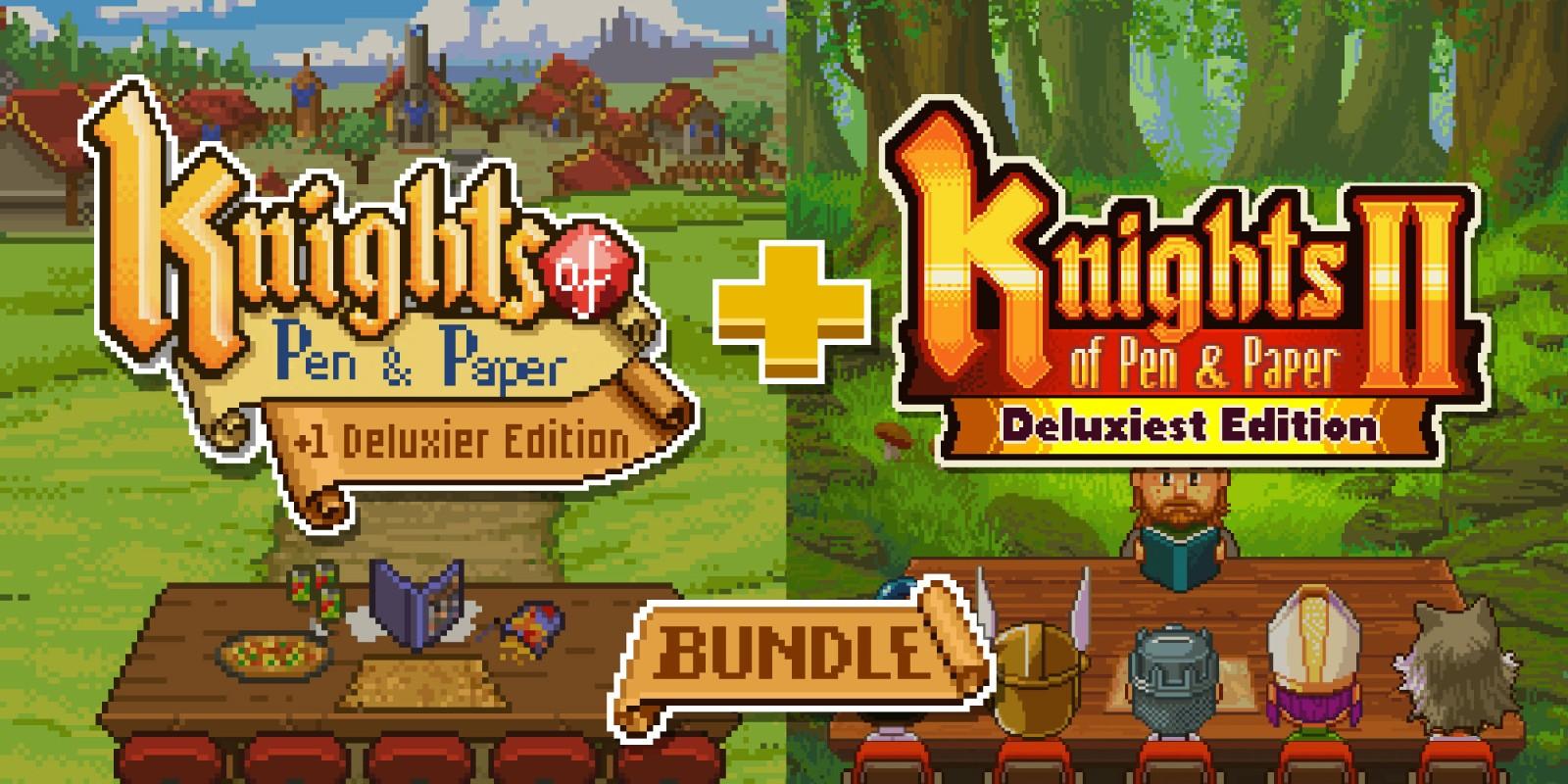 Knights of Pen and Paper Bundle   Jeux à télécharger sur Nintendo ...