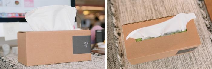辦公桌佈置必備面紙盒