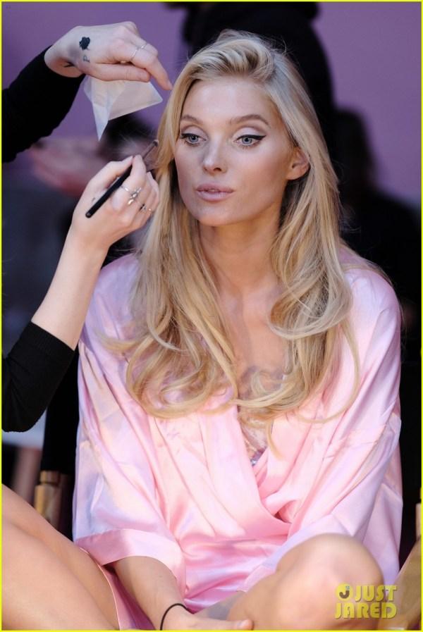 Victoria's Secret Models Get Makeup Done for Fashion Show ...