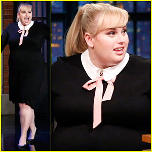Rebel Wilson Reveals Her First Acting Head Shot On 'Late Night' - Watch Here!