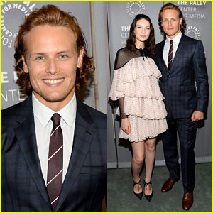 Sam Heughan Wants to Follow in William Shatner's Footsteps