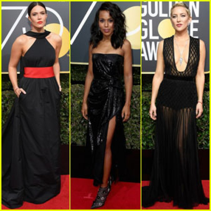 cba8c29b790 Black Time s Up Golden Globe Dresses Up For Auction. – Pan African News