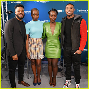 The Cast of 'Black Panther' Takes Part in SiriusXM's Town Hall!