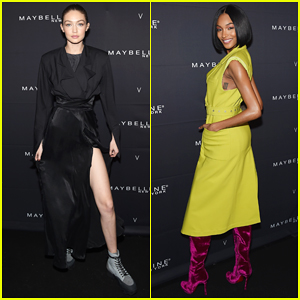 Gigi Hadid & Jourdan Dunn Lead the Model Pack at Maybelline's NYFW Party!