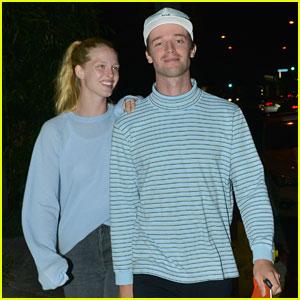 Patrick Schwarzenegger & Girlfriend Abby Champion Enjoy Date Night at Craig's