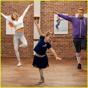 Gisele Bundchen Takes a Toddlerography Class With James Corden - Watch!