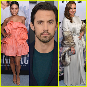 Milo Ventimiglia Joins Vanessa Hudgens & Leah Remini at 'Second Act' Premiere!