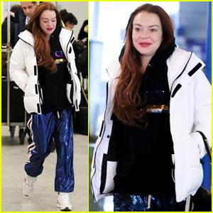 Lindsay Lohan Heads Back to Greece to Film 'Lindsay Lohan's Beach Club'