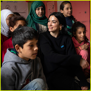 Dua Lipa Visits Lebanon with UNICEF to Meet Refugee Children!