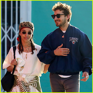 Shia LaBeouf & FKA twigs Are Still Going Strong - New Photos!
