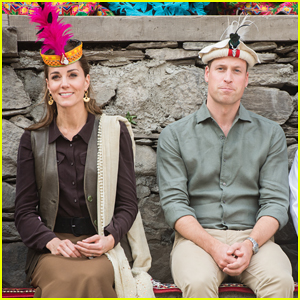 Duchess Kate Middleton & Prince William Meet Survivors Effected By Glacial Melting in Pakistan