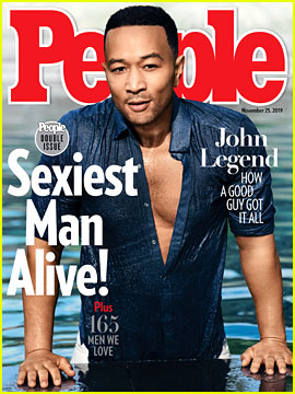 John Legend is People's Sexiest Man Alive 2019 - See Chrissy Teigen's Reaction!