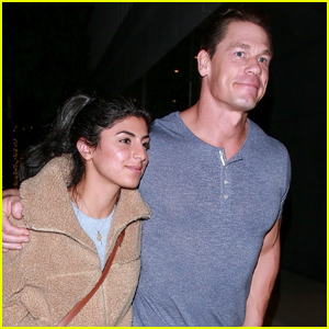 John Cena & Girlfriend Shay Shariatzadeh Keep Close on Dinner Date!