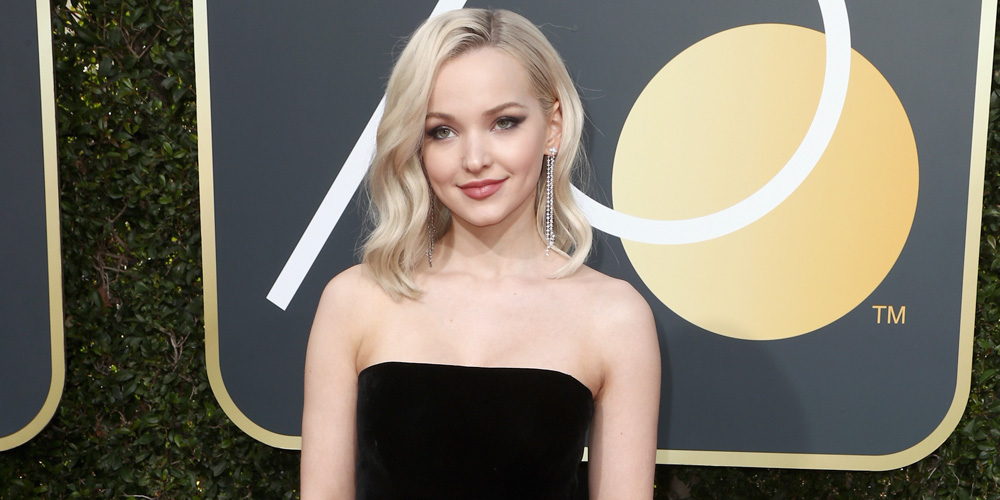 Dove Cameron Steps Out For Her First Golden Globes Ever