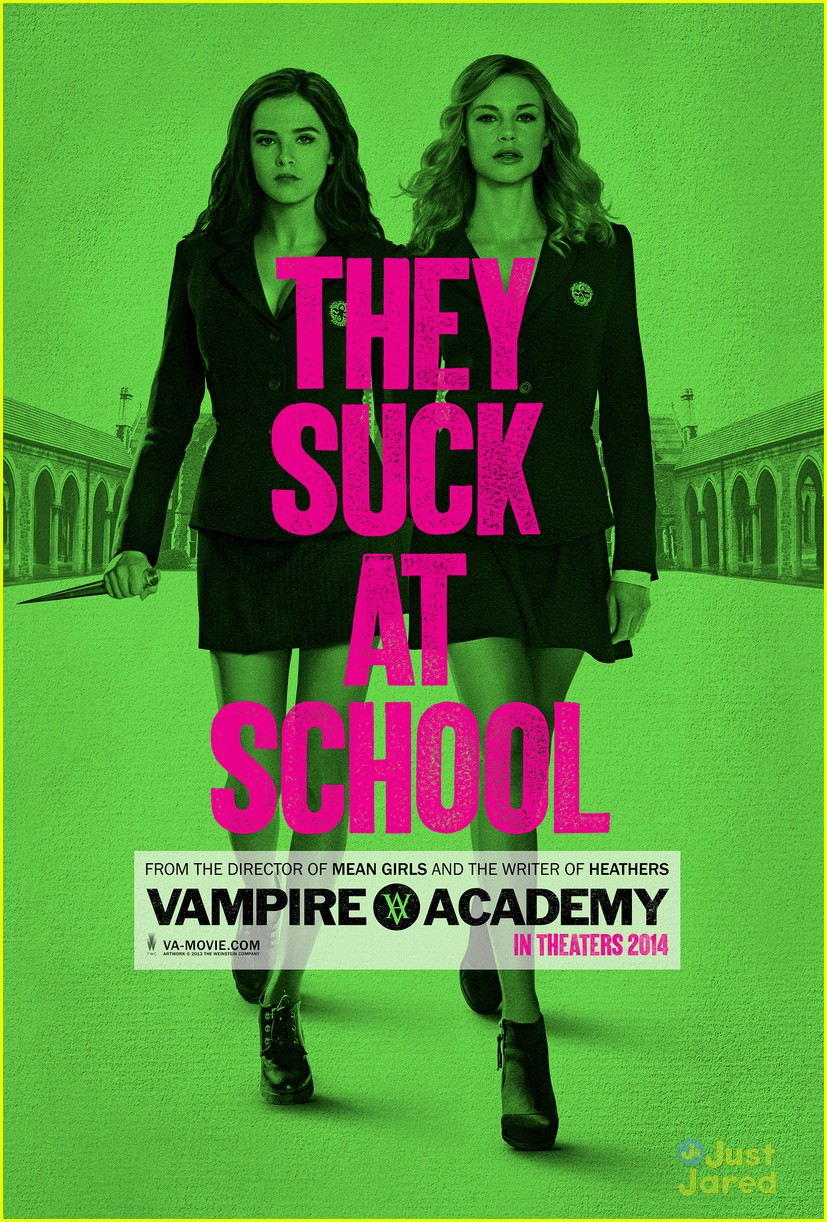 Richelle mead brasil just jared jr share the new poster of vampire academy fandeluxe Image collections