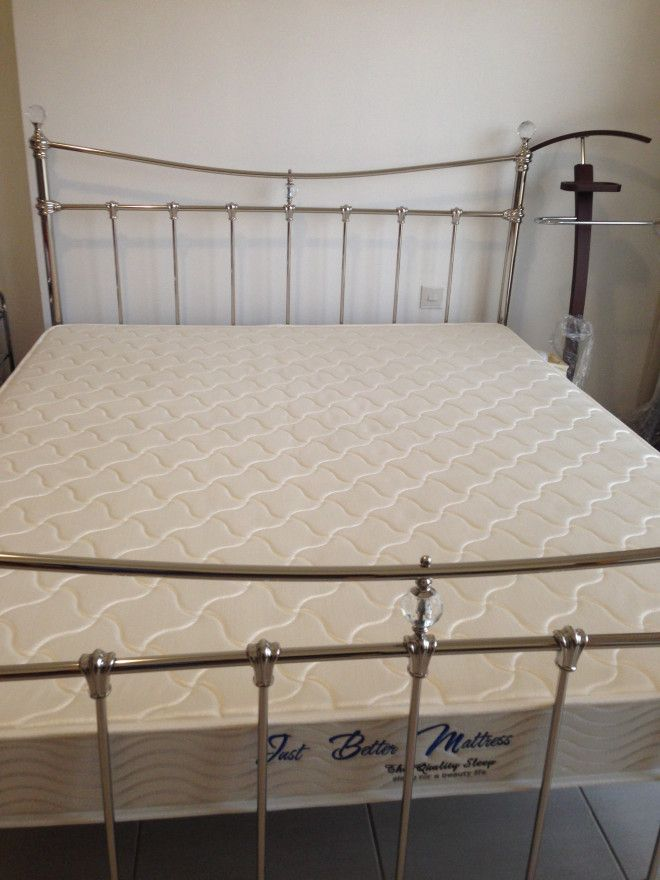 Metal Bed Frame And Mattress For In Dubai