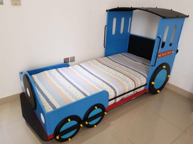 Children S Train Bed With Mattress In Very Good Condition For Dubai