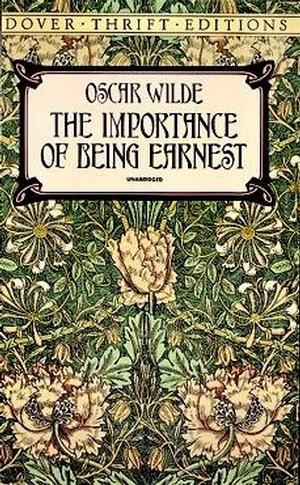 Image result for the importance of being earnest dover thrift edition