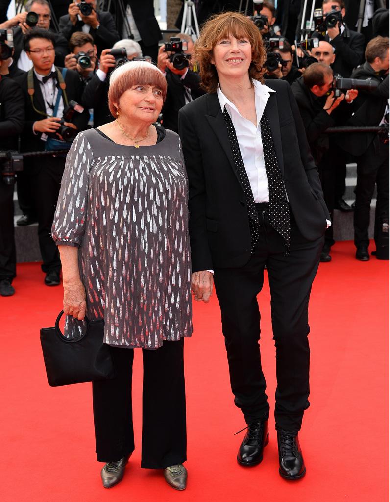Agns Varda Et Jane Birkin Cannes 2015 Ultime Monte