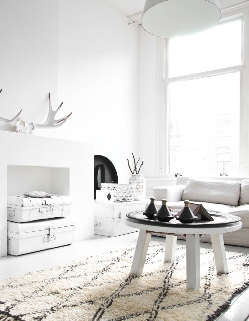 Deco Salon Moderne Noir Et Blanc - Evejoy.top