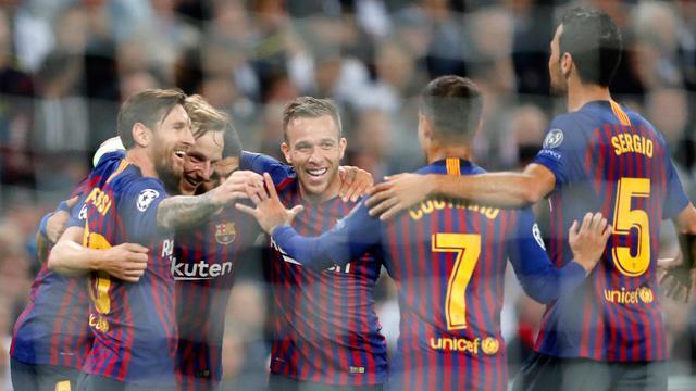 Messi Cetak 2 Gol, Barcelona Bantai Tottenham di Wembley