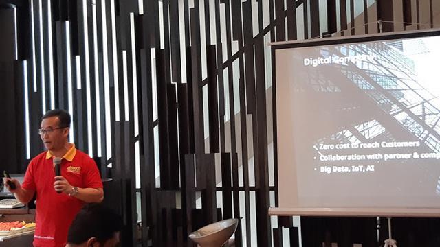 Group Head Business Product Indosat Ooredoo Budiharto. Liputan6.com/Agustinus Mario Damar