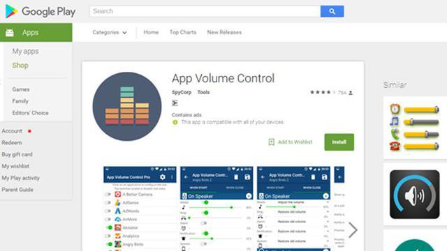 App Volume Control