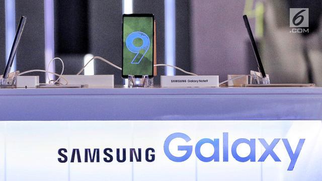 Samsung Galaxy Note 9 Resmi Dipasarkan di Indonesia