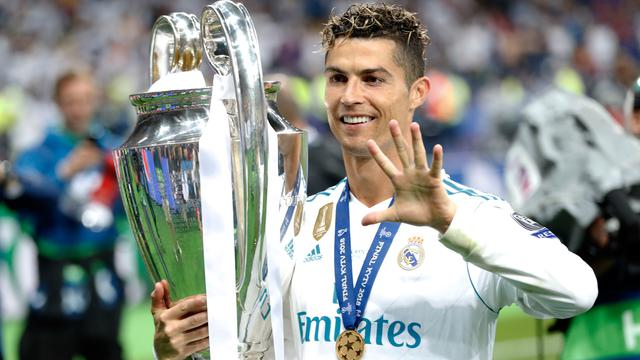 Lima Kali Juara Liga Champions, Cristiano Ronaldo Cetak Rekor Baru