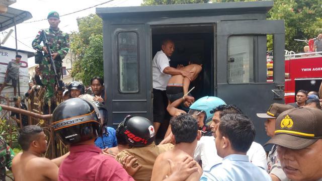 Evakuasi Napi Rutan Kabanjahe