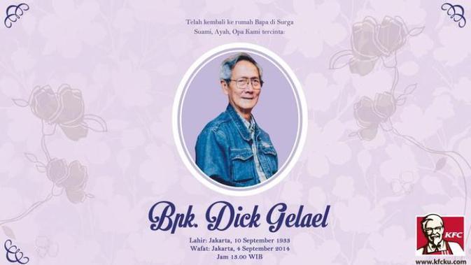 Perjalanan Bisnis Dick Gelael Sang Pendiri Kfc Indonesia Bisnis Liputan6 Com