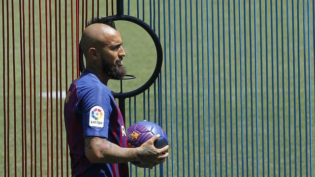 Arturo Vidal, Barcelona, La Liga