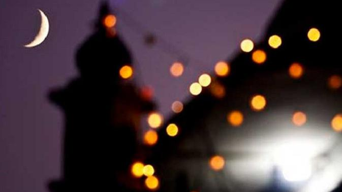Ilustrasi bulan Ramadan (AP)