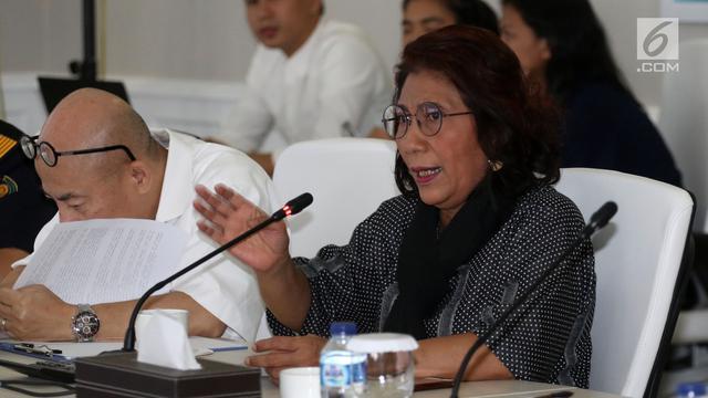Menteri Susi Akan Tenggelamkan 4 Kapal Asing Pembawa Narkoba