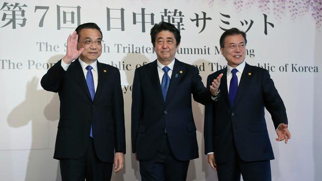 China, Jepang, dan Korsel Gelar Pertemuan Bahas Nuklir Korea Utara