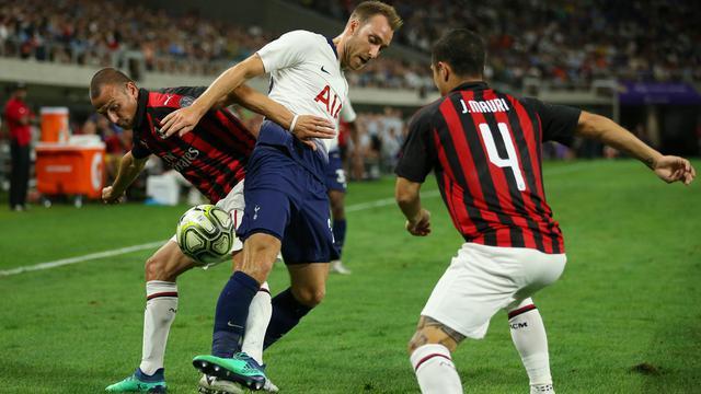 Tottenham Menang Tipis Atas AC Milan di ICC 2018