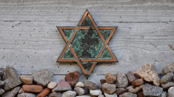Simbol Yahudi (AFP Photo/Tobias SCHWARZ)