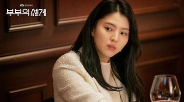 Han So Hee dalam The World of the Married (Instagram/ jtbcdrama)