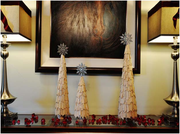 DIY Holiday: Craft Stick Trees