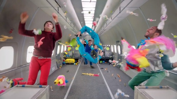 OK Go Outdo Themselves With Literally Gravity-Defying ...