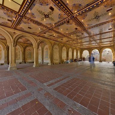 Bethesda Arcade Minton Tile Ceiling