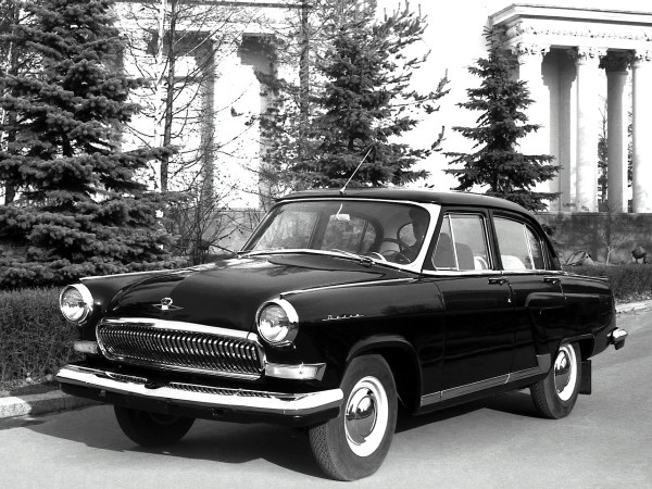 Тюнинг GAZ 21 Volga Sedan 1962, фото тюнинга Газ 21 Волга