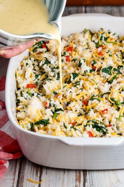 Spinach Rice Casserole