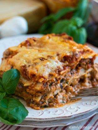 Image result for classic family lasagne