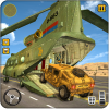 Flying Plane Transporter Army Cargo Delivery 2019