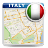 Italy Offline Road Map