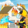 Play as Fireman: City Firefighter Game