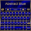 Abstract Blue Go Keyboard theme